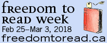 Freedom to Read Week Canada